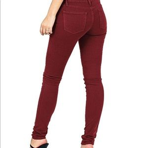 Angry Rabbit Wine Jegging Size 27/5